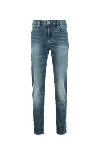 JackJones Men's Slim Fit Low-rise Waist  Jeans J | 217332531, Blue, large