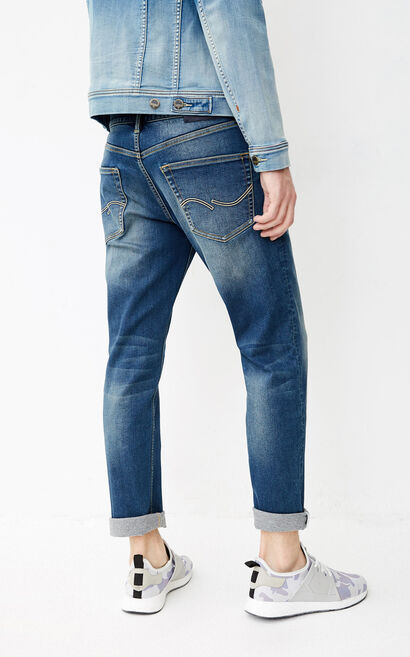 JO TIM CROPPED JE VOLCANIC JEANS, Blue, large