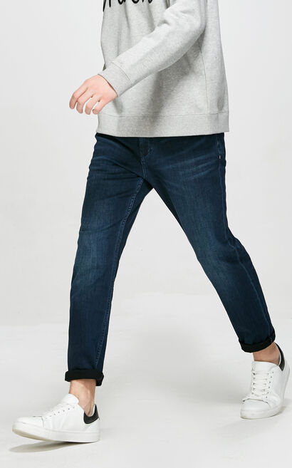 E ERIC NEWMAN JEANS, Blue, large