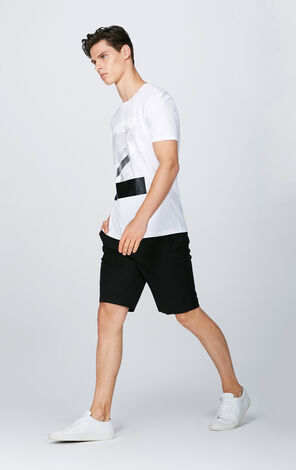 JACK JONES MEN'S SOLID SHORTS | 217315505