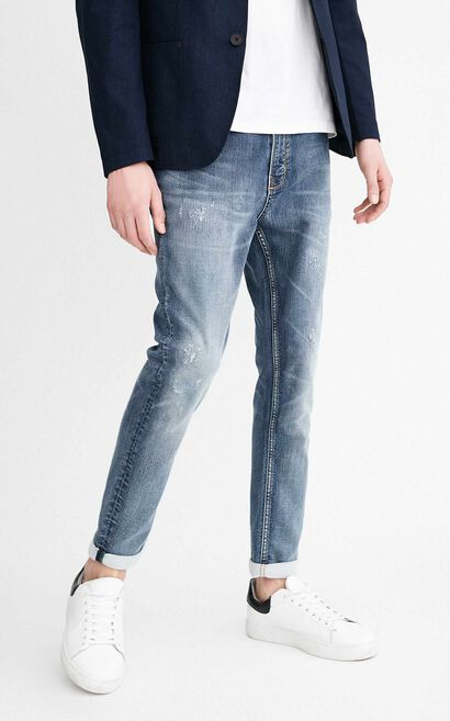 JO GREG CROPPED JE ORG JOLT REP JEANS, Blue, large