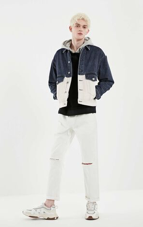 M HARLAND DENIM JACKET