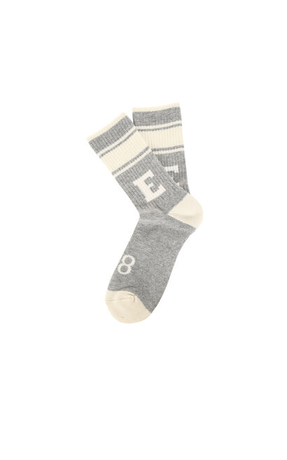 E IVES LONG SOCKS, Grey, large