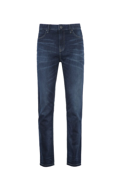 JackJones Men's Spring Lycra Tapered Jeans C|217132578, Blue, large