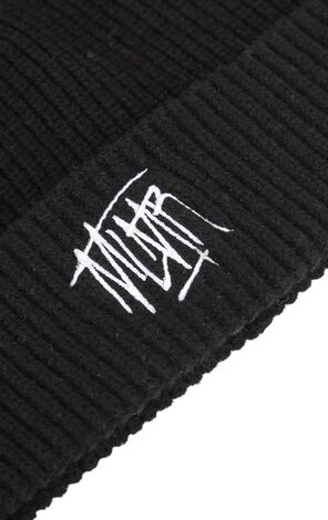 MLMR Men's Soft Embroidered Knitted Hat M|218486502