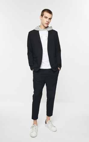 Slim Fit Stretch Blazer