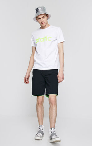 JackJones Men's Spring & Summer Pure Color Rolled Shorts C| 219215503