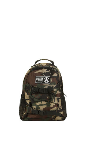 MLMR men's trend camouflage patch decoration multi-pocket drawstring versatile backpack M|219185503