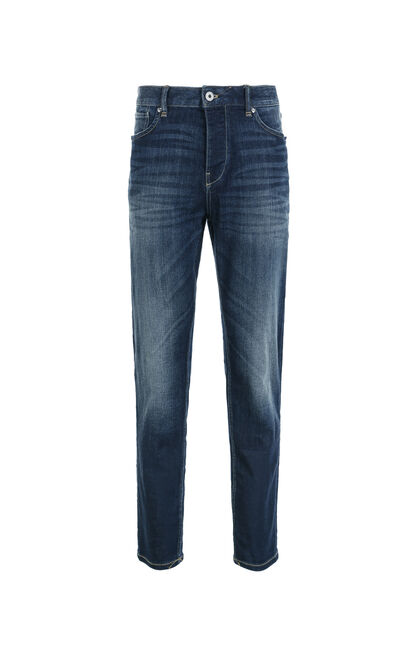 Jack Jones Men's Summer Faded Slim Fit Low-waistline Skinny-leg Jeans J|217332526, Blue, large