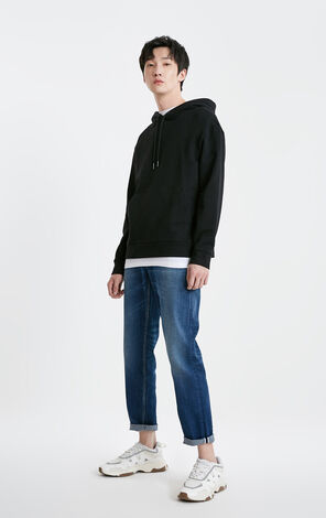 JackJones men's winter hooded loose street hooded sweater J|219133523