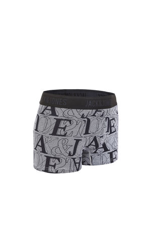JackJones Men's Stretch Cotton Letter Print Boxer Briefs E|219192511