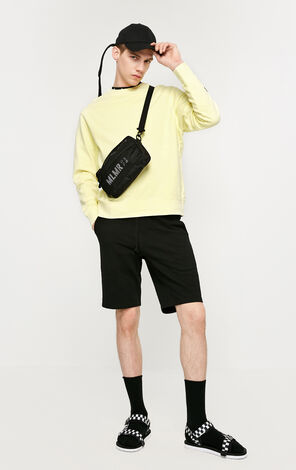MLMR Men's Spring 100% Cotton Letter Print Long-sleeved Pullover Top Jersey |219133542
