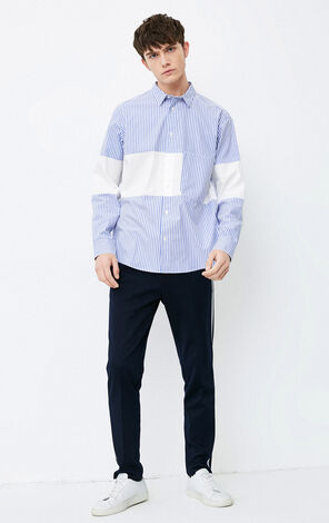 E EPIDAM SHIRT L/S(OVERSIZED FIT)
