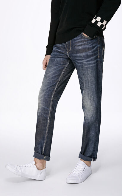 JO RAY SMOOTH RIDE JEANS, Blue, large