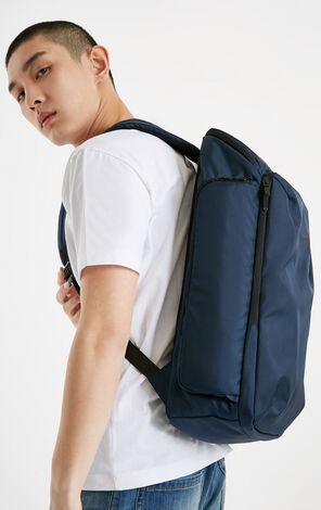 JackJones Winter men's Offset Letter Zipper Sports Casual Backpack C|219185509