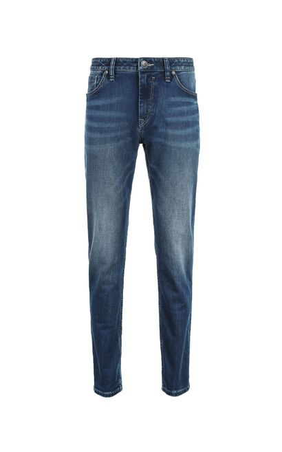 E RAY DUKE JEANS, Blue, large