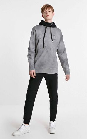 JackJones Men's 3D Letter Print Long-sleeved Sweatshirt C|219133528