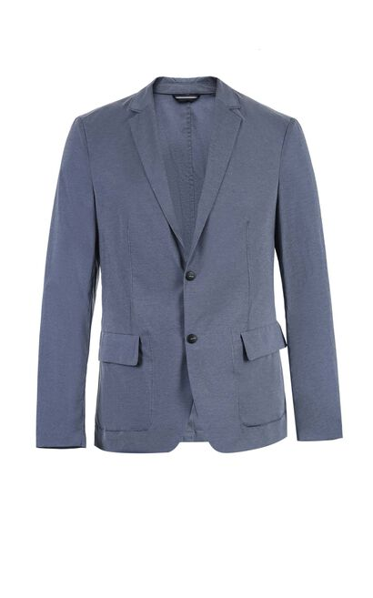 C GRANGER BLAZER(SLIM FIT), Blue Gray, large