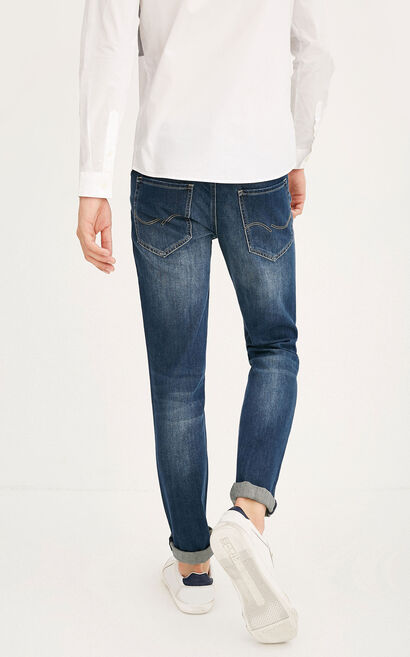 JC RON MANTY DARK JEANS, Blue, large