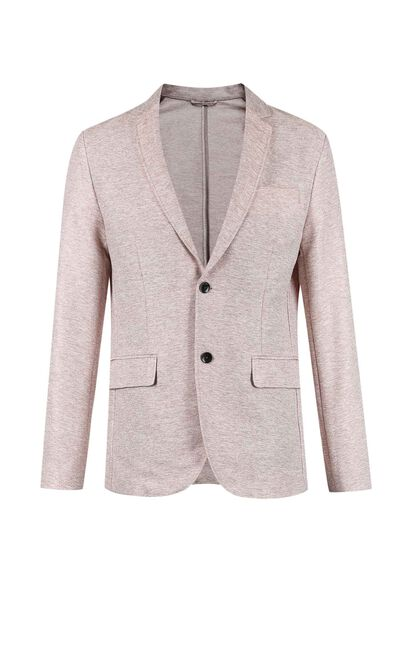JackJones Men's Slim Fit Assorted Colors Thin Blazer E|218108521, Pink, large