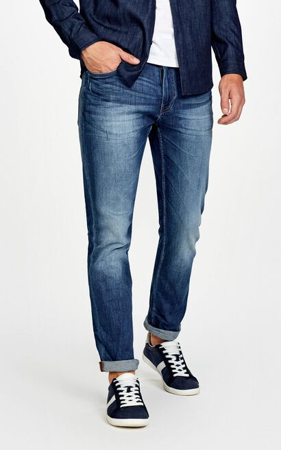 JackJones High stretch Slim Fit denim pants JC|217332518 , Blue, large