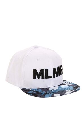 MLMR winter men's trendy letter embroidery fashion camouflage pattern casual flat hat M|219186512