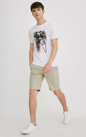 E COSMO TEE S/S(SLIM FIT)