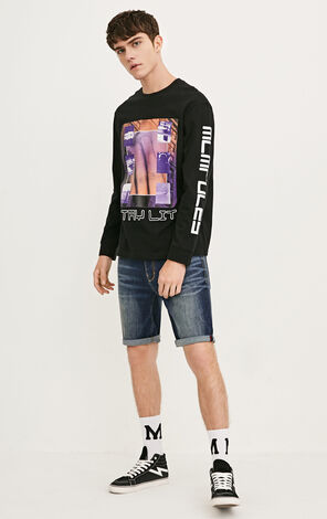 JO TIM FLEX DOWNTOWN AM DENIM SHORTS