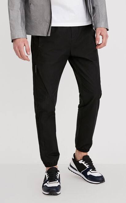 JackJones Men's Spring & Summer Cotton Light-weight Casual Pants| 218114560, Black, large