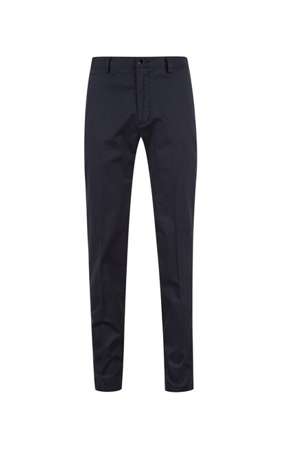 Jack Jones Men's Spring & Summer Pure Color Slim Fit Leisure Pants E|217314513, Blue, large