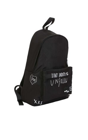 MLMR Men's Autumn Embroidered Letters Backpack |218385501
