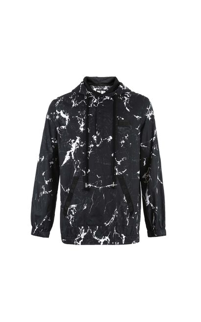 M SLAM SHIRT L/S(OVERSIZE FIT), Black, large