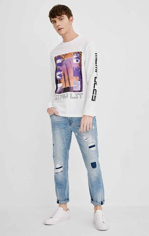 JO TIM CROPPED HUNTINGTON JEANS