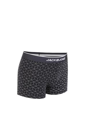 JackJones Men's Stretch Geometrical Print Boxer Briefs E|219192504