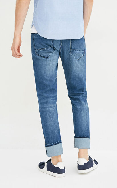 E RAY JACKMAN JEANS, Blue, large