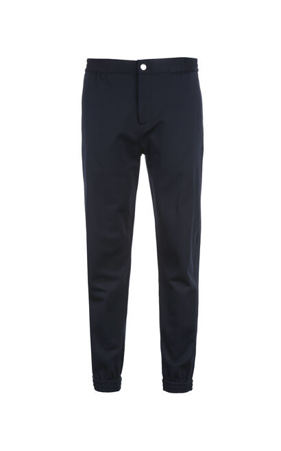 JackJones Men's Spring Cotton Slim Fit Tapered Sweatpants|217114512, Blue, large