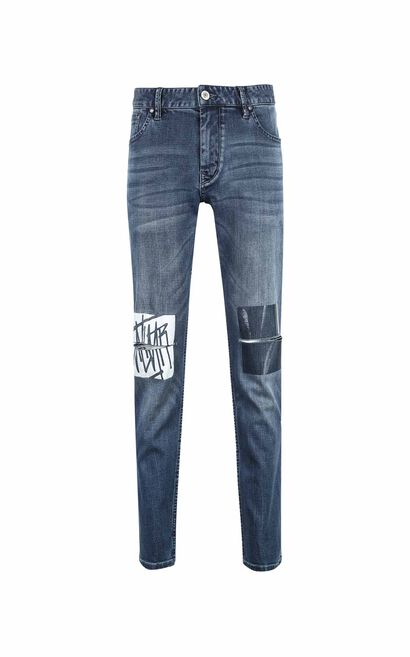 JO RON PS MIGHTY GRIT  JEANS, Blue, large