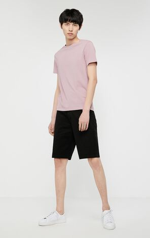 JackJones Men's Autumn 100% Cotton Round Neckline Short-sleeved T-shirt J|| 219301502