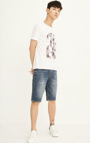 EXP-JC RON VAN HORN DENIM SHORTS