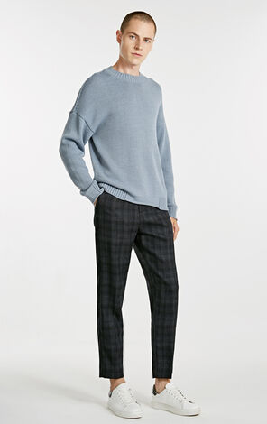 Men's Autumn Woolen Business-casual Pants