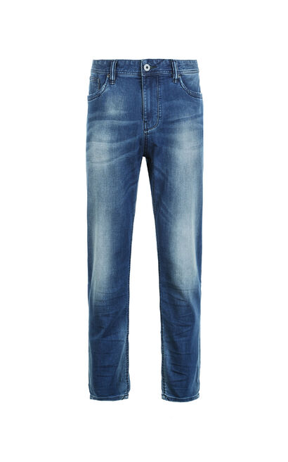 JackJones Men's Summer Stretch Cotton Faded Jeans JO|217332542, Blue, large