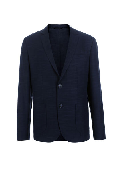 JackJones Men's Autumn Tencel Suit Jacket E|217308507, Blue, large