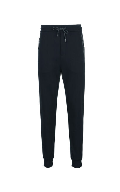 JackJones Cotton sport tapered leisure long sweatpants C|217314522, Black, large
