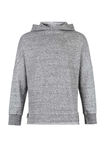 JackJones Men's Loose Fit Zip-through Long-sleeved Hoodie M|218133518, Grey, large