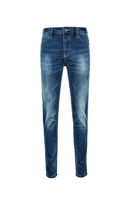 JackJones Men's Spring Stretch Lycra Jeans J|218132555, Blue, large