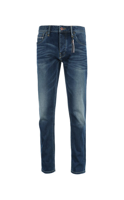 JackJones Men's Spring Slim Fit Stretch Cotton Lycra Jeans O|217132544, Blue, large