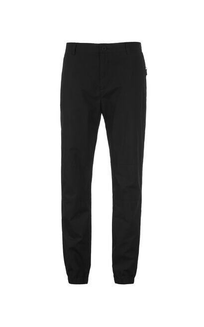 JackJones Men's Summer Slim Fit Cotton Tapered Sweatpants C|217214504, Black, large