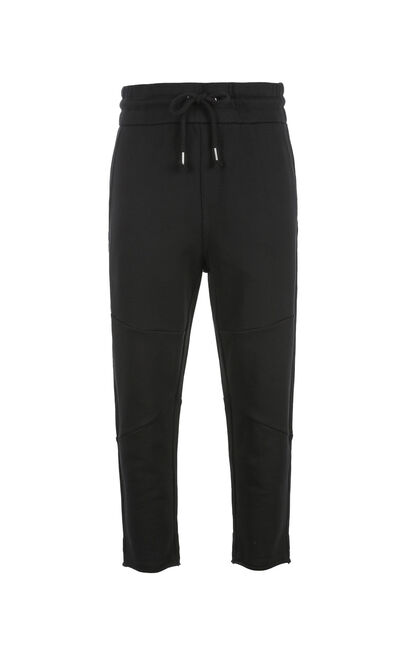 JACK JONES MEN'S ICE SWEAT PANTS | 218114504, Black, large