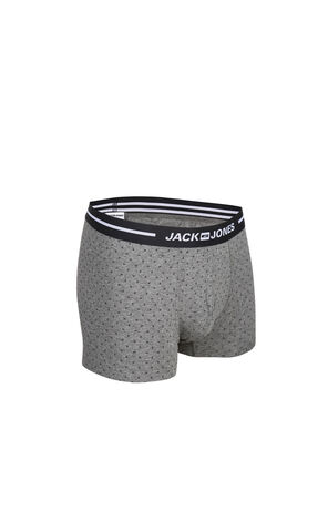 JackJones Men's Printed Waistband Stretch Cotton Boxer Shorts| 217192502