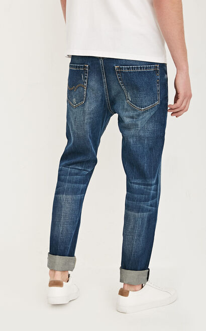 JC ERIC LITTLE CUBA MANTY DK JEANS, Blue, large